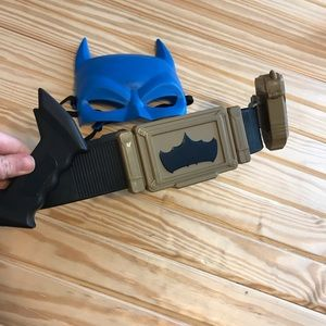Batman Utility belt and mask